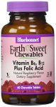 Earth And Sweet Chewables Vitamin B6, B12 Plus Folic Acid (60 Chewable Tablets)