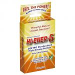 Windmill Health Products Hi-ener-g Triple Ginseng Supplement Caplets, 500 Mg, 20-count Packages (pack Of 3)