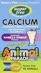 """Source Of Life Animal Parade Sugar-free Calcium Vanilla Sundae Nature""""s Plus 90"""