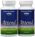 2 Pack Of Attend By Vaxa - 120 Capsules