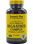 "Mega Stress Complex Time Release Nature""s Plus 90 Sustained Release Tablet"