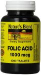 Folic Acid 1000 Mcg 1,000 Mcg 1000 Tabs