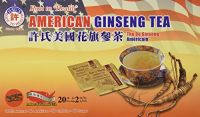 "Hsu""s Root To Health American Ginseng Tea, 20 Teabags #1036"