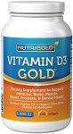 Vitamin D3 1000 Iu, 360 Mini Softgels (gmo-free, Preservative-free, Soy-free, Usp Grade Natural Vitamin D In Organic Olive Oil)