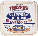 Slippery Elm Tangerine 42 Lozenges
