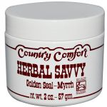 Country Comfort Herbal Savvy Goldenseal Myrrh 2 Oz