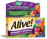 "Alive Women""s Energy Multivitamin Multimineral 50 Tablets"