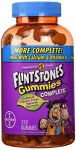 "Flintstones Gummies Complete-children""s Multivitamin , 250 Gummies With More D3"