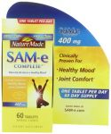 Nature Made Sam-e Complete 400mg 60 Tablets