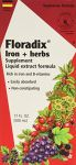 Flora Floradix Iron + Herbs, 17 Oz (pack Of 2)