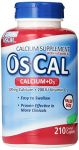 Os-cal 500 + D, Calcium 500 Mg., D3 200 I.u., 210 Coated Caplets