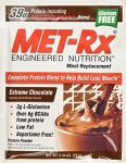 Met-rx Meal Replacement Powder - Extreme Chocolate, 2.54-ounce,18 Count