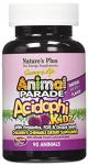 "Nature""s Plus - Animal Parade Acidophikidz, 90 Chewable Tablets Berry Flavor, Gluten Free"