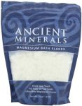 Ancient Minerals Magnesium Bath Flakes Single Use Pouch - 1.65 Lb Bag
