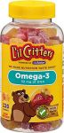 "L""il Critters Omega-3 Gummy Fish With Dha, 120-count Bottles (pack Of 3)"