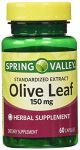 Spring Valley Olive Leaf 150mg, 60capsules