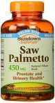 Sundown Naturals Saw Palmetto, 450 Mg, 250 Capsules