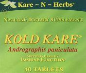 Kare N Herbs - Kold Kare, 40 Tablets