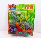 Jurassic Dinosaur Figures Kids Playset 20 Piece Set Create Your Own Prehistoric Park !