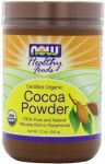 Now Foods Organic Cocoa Powder 12 Oz - Pack Of 2