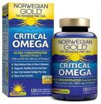 Renew Life Ng Critical Omega Fish Gels, Orange Flavor, 900 Mg Of Omega-3, 120 Count