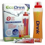 Ecodrink Complete Multivitamin & Minerals Drink Mix - 15 Orange + 15 Berry - 30 Packets Total Plus A Reusable, Bpa-free Shaker Bottle Included