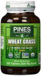 Pines Wheat Grass Wheat Grass 500mg 250 Tab