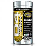 Cellucor D4 Thermal Shock - High Energy Fat Burner - Energy - Focus - Appetite Support - 120 Capsules