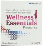 Metagenics Wellness Essentials For Pregnancy Supplement, 30 Count