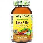 Megafood Baby & Me Prenatal Vitamins, 120 Count