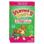 Yummi Bears Fish Free Omega 3 With Chia Seed Supplement For Kids, 90 Gummy Bears