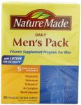 "Nature Made Men""s Pack Vitamin, 30-count"