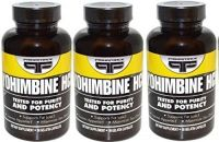 Yohimbine HCL Supplements Primaforce 90 3 Pack