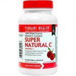 Vibrant Health - Super Natural C - 100% Plant Source Vitamin C Complex, 60 Count