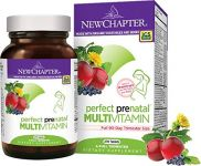 New Chapter Perfect Prenatal Multivitamin Trimester, With Folic Acid - 270 Ct (3 Month Supply)
