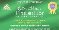 """Essential Formulas Dr.ohhira""""s Probiotics Original Formula, 60 Capsules"""
