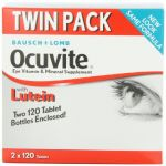 Bausch + Lomb Ocuvite Eye Vitamin & Mineral Supplement With Lutein - 240 Tablets
