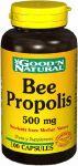 "Bee Propolis 500mg - 100 Caps,(good""n Natural)"