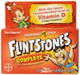 "Flintstones Children""s Complete Multivitamin Chewable Tablets, 60-count Bottles (pack Of 3)"