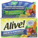 "Alive Men""s Energy Nature""s Way 50 Tabs"