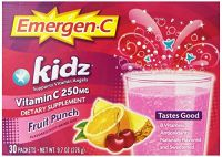 Emergen-c Kidz, Fruit Punch, 30 Count