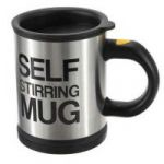 Self Stirring Mug With Lid For Coffee Tea Juices