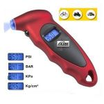 Aeoss Tyre Tire Pressure Gauge Digital LCD Display With LED Lighting Effect