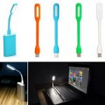 USB LED Lamp For Notebook Computer Laptop PC Portable Flexible Metal 1.2w L
