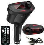 Aeoss Car Digital MP3 Player FM Transmitter Modulator LCD USB SD MMC With Remote