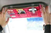 Aeoss Car Sun Visor Storage Point Pocket Documents Organizer Mobile Tablet Holder