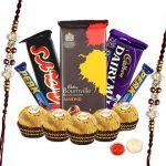 Rakshabandhan Gifts - Chocolates With Rakhi