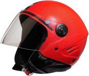 Stallion Open Face Isi Helmet (red)