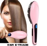 Hair Straightner Brush Hqt-906