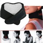 Self-heating Tourmaline Magnetic Therapy Neck Massager Belt
